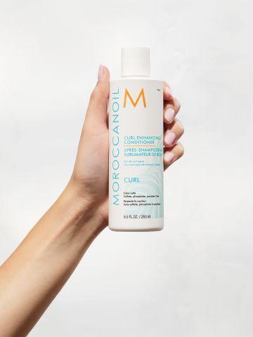 מרכך לשיער מתולתל Curl enhancing consitioner של MOROCCANOIL