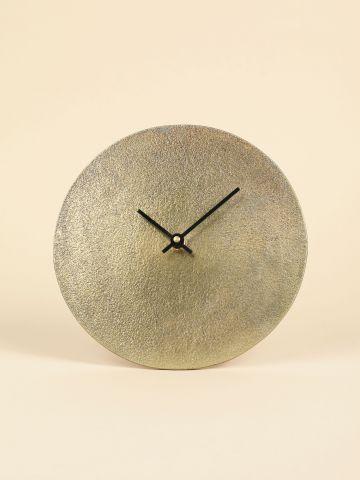 שעון מטאלי עגול של FLORALIS