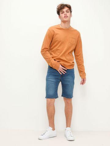 ג'ינס קצר עם כיסים של FOX
