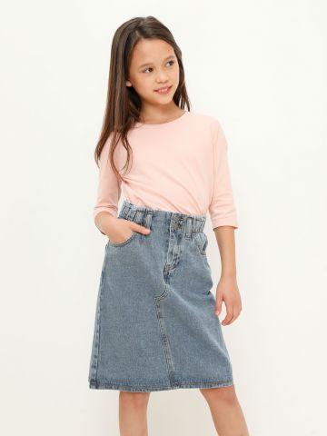 חצאית ג'ינס עם כיסים של FOX