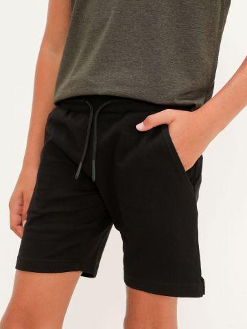 מכנסי טרנינג קצרים עם כיסים של FOX
