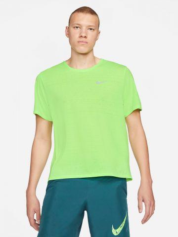 חולצת ריצה Dri-FIT עם לוגו של NIKE