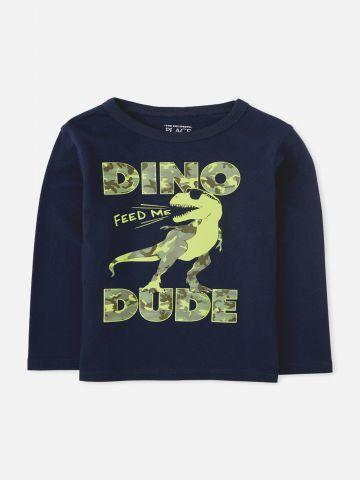 טי שירט דינוזאור / 9M-4Y של THE CHILDREN'S PLACE