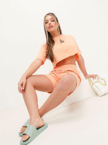 מכנסי טרנינג קצרים דקים של NOA KIREL X TERMINAL X