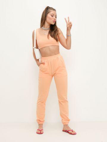 מכנסי טרנינג עם גומי של NOA KIREL X TERMINAL X