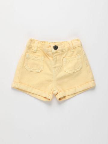 ג'ינס קצר עם כיסים / 3M-3Y של FOX