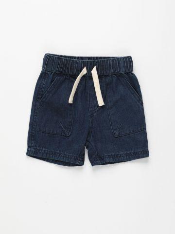 ג'ינס ברמודה קצר עם כיסים / 3M-6Y של FOX