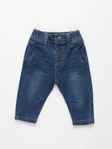 ג'ינס ארוך עם כיסים / 3M-3Y של FOX