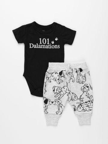 סט בגד גוף ומכנסיים בהדפס דיסני / 0M-24M של FOX