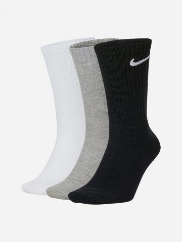 מארז 3 זוגות גרביים עם לוגו Dri-Fit / יוניסקס של NIKE