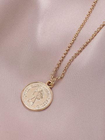 שרשרת ליז מטבע גולדפילד של LUX