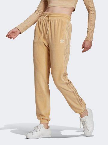 מכנסי טרנינג דמוי קטיפה של ADIDAS Originals