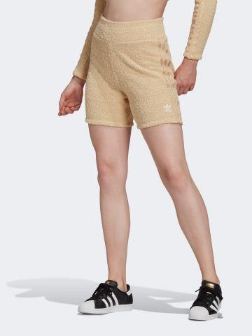 מכנסי טרנינג קצרים בד מגבת של ADIDAS Originals