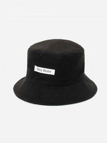 כובע באקט עם פאצ'ים / נשים של DON'T TELL MAMA