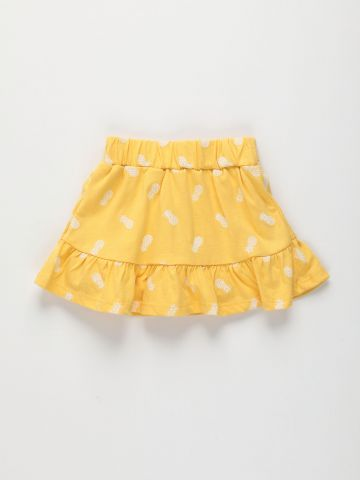 חצאית פפלום בהדפס / 3M-3Y של FOX