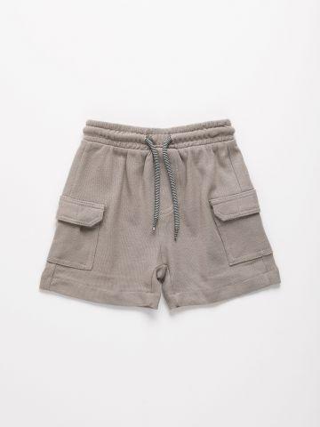 מכנסיים קצרים עם כיסים / 6M-24M של FOX