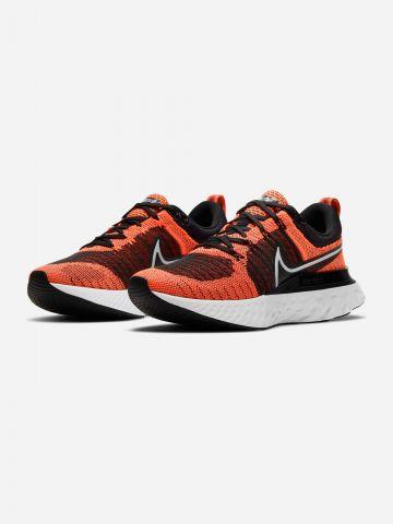 נעלי ריצה React Infinity Run Flyknit 2 / נשים של NIKE