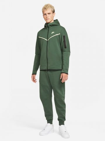 מכנסי טרנינג לוגו עם רוכסן מודגש Tech Fleece של NIKE