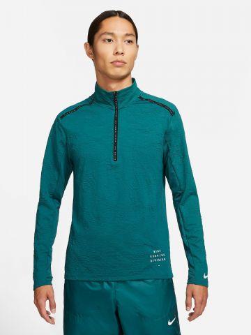חולצת ריצה עם לוגו Dri-FIT של NIKE