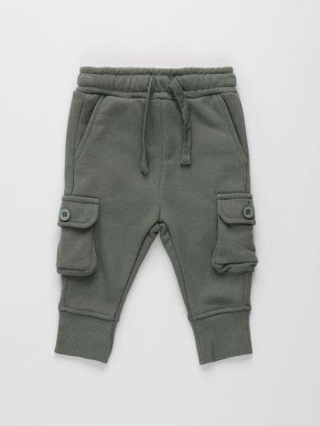 מכנסי פוטר ארוכים עם כיסים / 3M-3Y של FOX