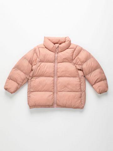 מעיל קווילט עם צווארון גבוה Volume Warm Padded Jacket / בנות של UNIQLO