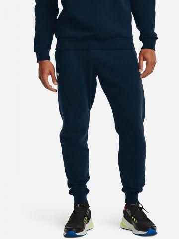 מכנסי טרנינג עם כיסים ולוגו של UNDER ARMOUR
