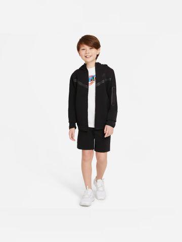 מכנסיים קצרים עם לוגו מותג Tech Fleece של NIKE