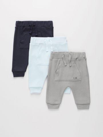 מארז 3 מכנסי טרנינג עם כיס / 0M-2Y של FOX
