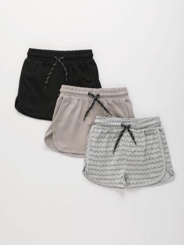 מארז 3 מכנסיים קצרים / 6M-6Y של FOX
