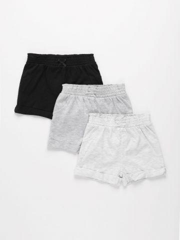 מארז 3 מכנסיים קצרים / 3M-3Y של FOX