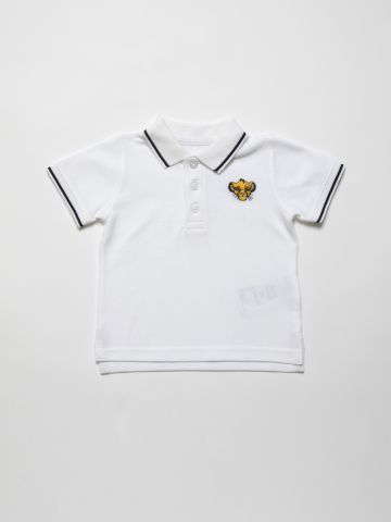 חולצת פולו עם רקמת דיסני / 3M-3Y של FOX