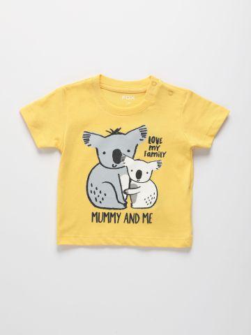 טי שירט עם הדפס / בייבי בנים של FOX