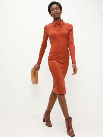 שמלת מידי מכופתרת של GLAMOROUS
