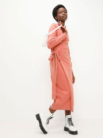 שמלת מעטפת סרוגה באורך מידי של GLAMOROUS