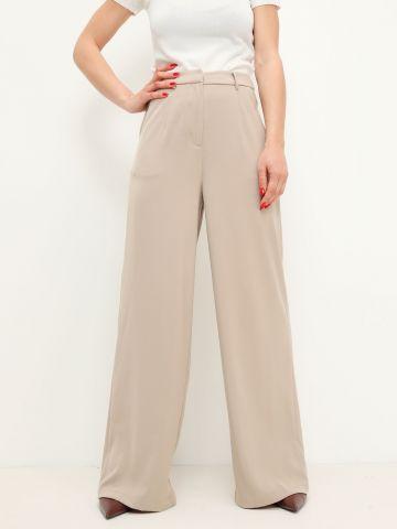 מכנסיים מחוייטים בגזרה רחבה של GLAMOROUS