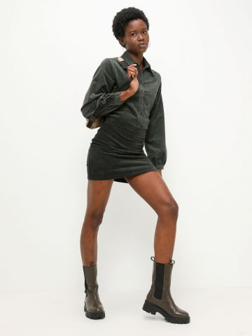 חצאית מיני קורדורוי של GLAMOROUS