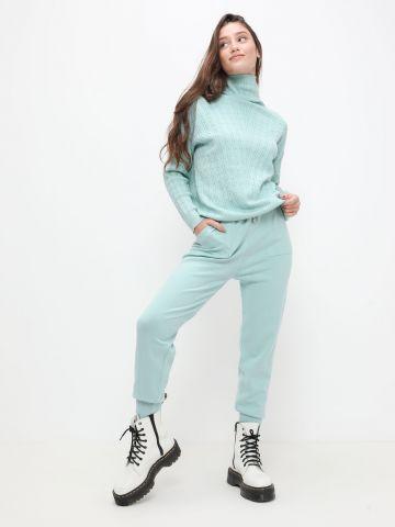 מכנסי סריג עם כיסים של YANGA