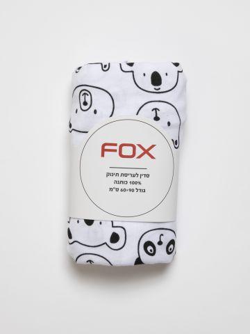 סדין עריסה בהדפס / בייבי של FOX