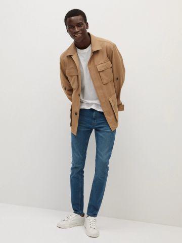 ג'ינס חלק Jude של MANGO