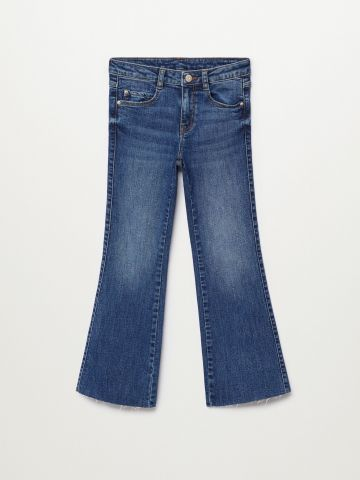 ג'ינס מתרחב עם סיומת פרומה Bootcut / בנות של MANGO