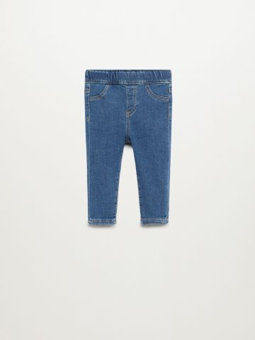 ג'ינס סטרץ' עם גומי מותן / 9M-4Y של MANGO
