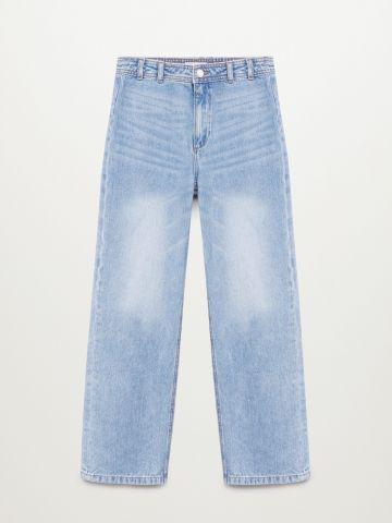 ג'ינס בגזרה רחבה / בנות של MANGO