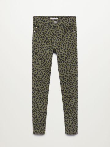 ג'ינס סקיני בהדפס חברבורות / בנות של MANGO