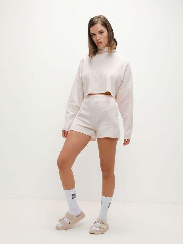 סט חולצת גולף ומכנסי טרנינג פיקה של TERMINAL X