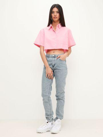 ג'ינס בשטיפה בהירה של TERMINAL X
