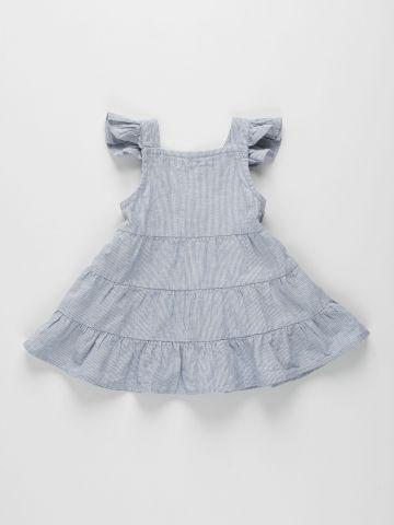 שמלת קומות בהדפס פסים / 0M-2Y של FOX