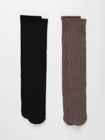מארז 2 גרביים סרוגות של TERMINAL X