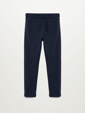 מכנסי טרנינג בגזרת Slim-Fit / בנות של MANGO