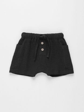 מכנסי טטרה קצרים עם כפתורים / 6M-3Y של TERMINAL X KIDS