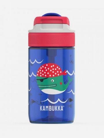 בקבוק שתייה בדוגמת לוויתן של KAMBUKKA